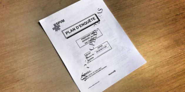 Le document qui a provoqué l'affaire