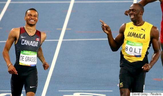 Rio 2016: Andre De Grasse rit avec Usain Bolt jusqu'en finale du 200