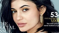 Kylie Jenner au naturel pour Glamour