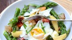 Vite fait, bien fait: Fricassée d'asperges et œuf