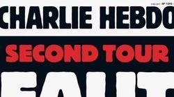 La une sans dessin mais très explicite de Charlie Hebdo avant le second