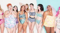 La nouvelle campagne des maillots de bain de ModCloth célèbre la diversité