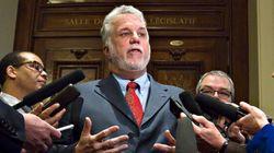 Bombardier: Ottawa doit aussi investir, disent Couillard et Péladeau