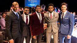 Styles de soirée: le chic défilé de la collection de P.K. Subban pour RW&CO