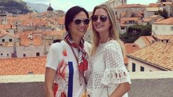 Les vacances croates d'Ivanka Trump avec l'ex-femme de Rupert Murdoch