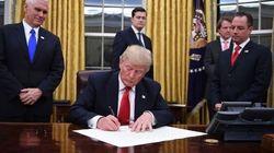 Trump signe un décret contre la loi sur la santé