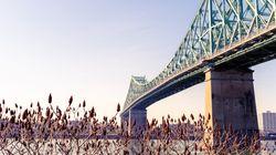 La piste cyclable du pont Jacques-Cartier ouverte même