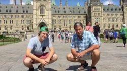 Le défi «22 push-ups» se rend jusqu'à Ottawa