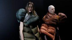 À la Semaine mode homme 2017 de Paris, des «mannequins-sacs de couchage» ont
