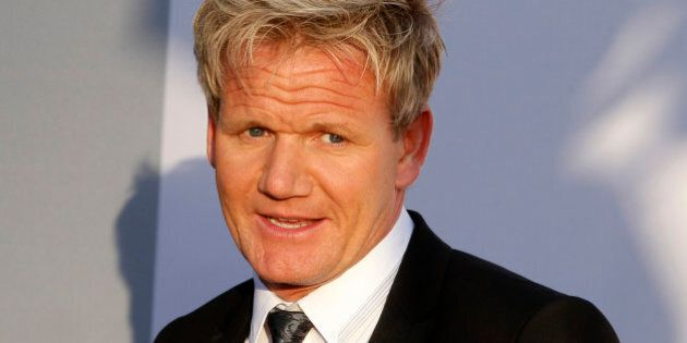 Chef Gordon Ramsay arrives at the BAFTA Brits to Watch event in Los Angeles, California July 9, 2011....