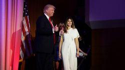Karl Lagerfeld et Ralph Lauren pourraient habiller Melania Trump pour l'investiture de son