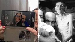 «Yolocaust», le site qui replace les selfies inappropriés au mémorial de