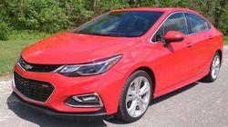 Premier contact Chevrolet Cruze 2016 : il ne manque que quelques éléments