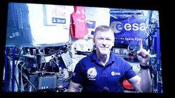 L'astronaute Tim Peake court un marathon dans
