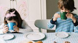 Élever des enfants en santé, un déjeuner à la