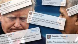 Ces tweets de Trump montrent à quel point il a changé d'avis sur la
