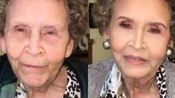 À 97 ans, elle reçoit une métamorphose