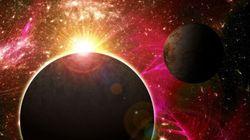 Découverte d'une atmosphère autour d'une exoplanète de taille
