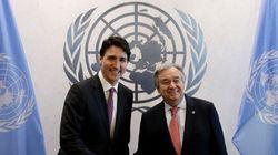 Justin Trudeau commente l'utilisation d'armes chimiques en