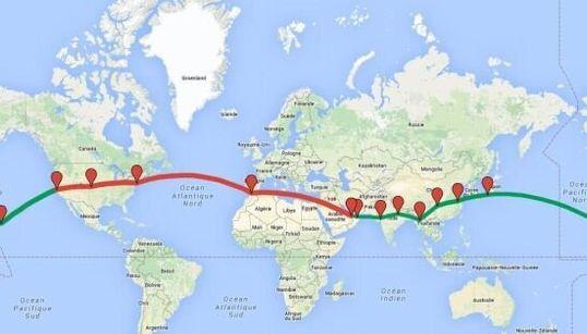 Solar Impulse: le chemin déjà effectué et celui qu'il lui reste à