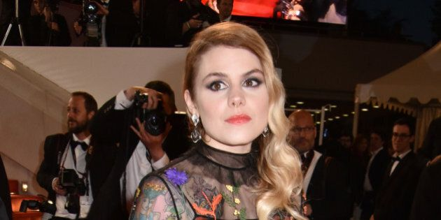 CANNES, FRANCE - MAY 19:  Coeur de pirate attends the 'It's Only The End Of The World (Juste La Fin Du Monde)' Premiere during the 69th annual Cannes Film Festival at the Palais des Festivals on May 19, 2016 in Cannes, France.  (Photo by Foc Kan/FilmMagic)