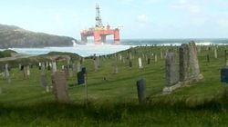Une plateforme pétrolière part à la dérive en Écosse