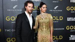 Matthew McConaughey et Camila Alves, un couple très