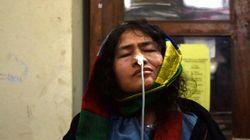 Une militante des droits de l'Homme met fin à 16 ans de grève de la