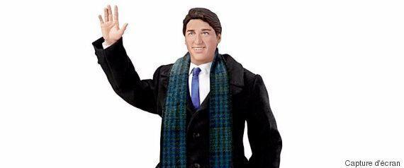 Une poupée de Justin Trudeau est maintenant en vente... et elle peut