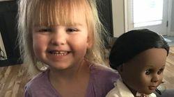 À 2 ans, cette petite fille livre une véritable leçon de