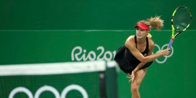 2016 Rio Olympics - Tennis - Preliminary - Women's Doubles First Round - Olympic Tennis Centre - Rio...