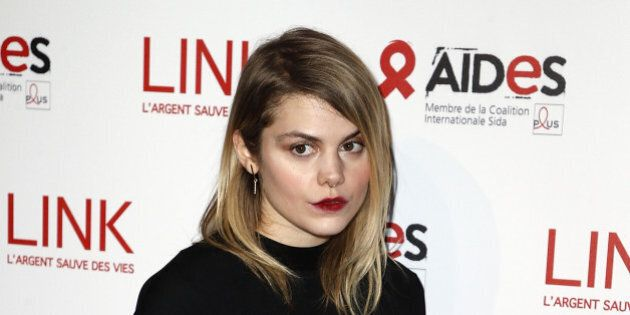 PARIS, FRANCE - DECEMBER 12: Singer Beatrice Martin aka Coeur de Pirate attends 'Link Aides' Charity...