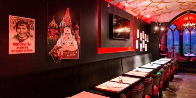 Vladimir Poutine a maintenant un restaurant qui porte son nom à Montréal