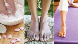 Conseils de pro pour de beaux pieds en