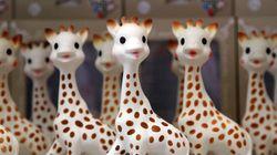 Le fabricant de Sophie la Girafe peine à rassurer les parents après des photos de