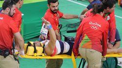 Rio 2016: le gymnaste à la jambe brisée est opéré avec
