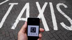 Uber dénonce la mesure qui l'assujettit aux mêmes règles que le secteur du