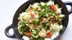 Vite fait, bien fait: salade de chou chinois au sésame et à la