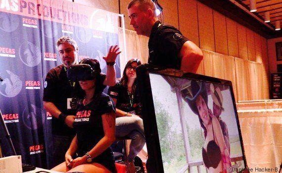 Réalité virtuelle et XXX: l'industrie de la pornographie promet de révolutionner le sexe en ligne