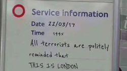 D'où vient cette fausse affiche du métro qui est devenue la réponse des Anglais aux