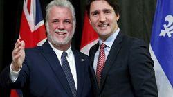 Trudeau et Couillard encouragent les