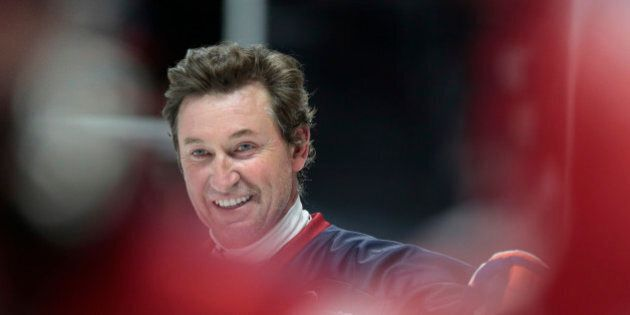 SYDNEY, AUSTRALIA - JUNE 25: Wayne Gretzky during 4 v 4 charity match between Team USA and Team Canada...