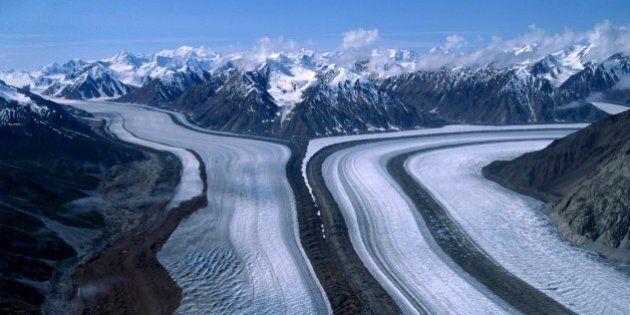 Canada. Yukon. Kaskawulsh Glacier. (Photo by: White Fox/AGF/UIG via Getty