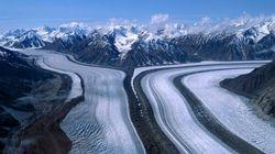 Une rivière asséchée à cause du réchauffement climatique au