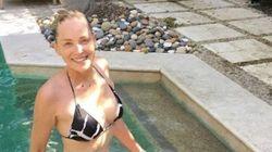 Sharon Stone sublime en bikini à 58 ans