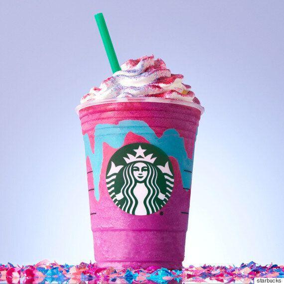 Le nouveau Frappuccino Starbucks vous en mettra plein la vue!