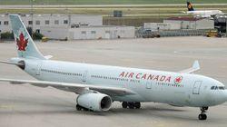 Un avion d'Air Canada perd une roue à