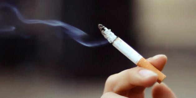 cigarette in the