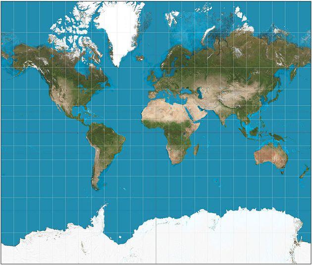 Les écoles publiques de Boston changent leurs cartes du monde