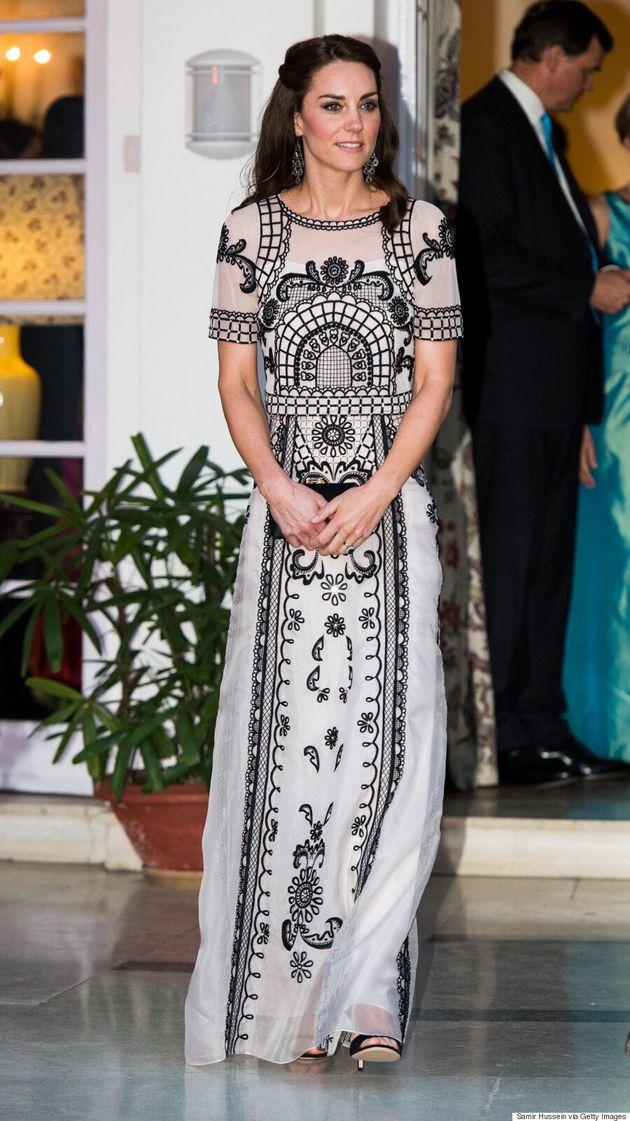 Voici combien a coûté la garde-robe de Kate Middleton pour son voyage en